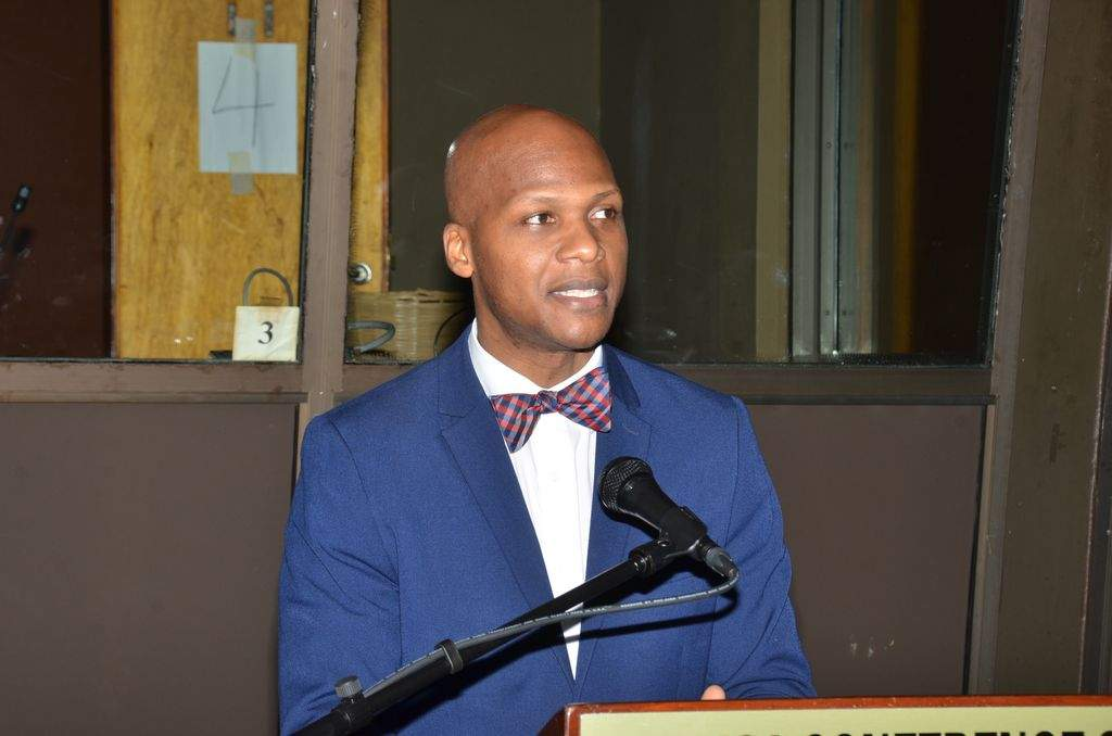 Principal Director of the Public Sector Modernisation Programmme, Office of the Cabinet, Wayne Robertson.