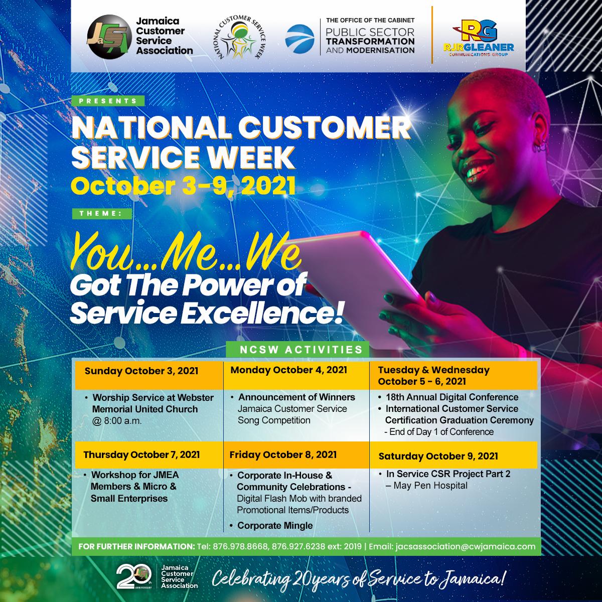 National Customer Service Week 2021